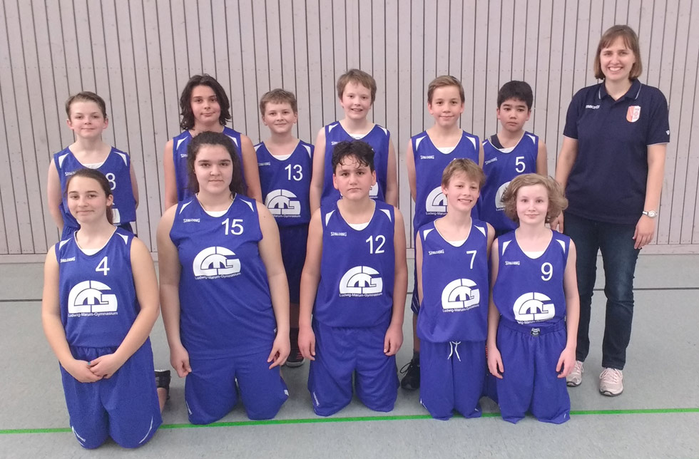 LMG Basketball Mixed Team 2017